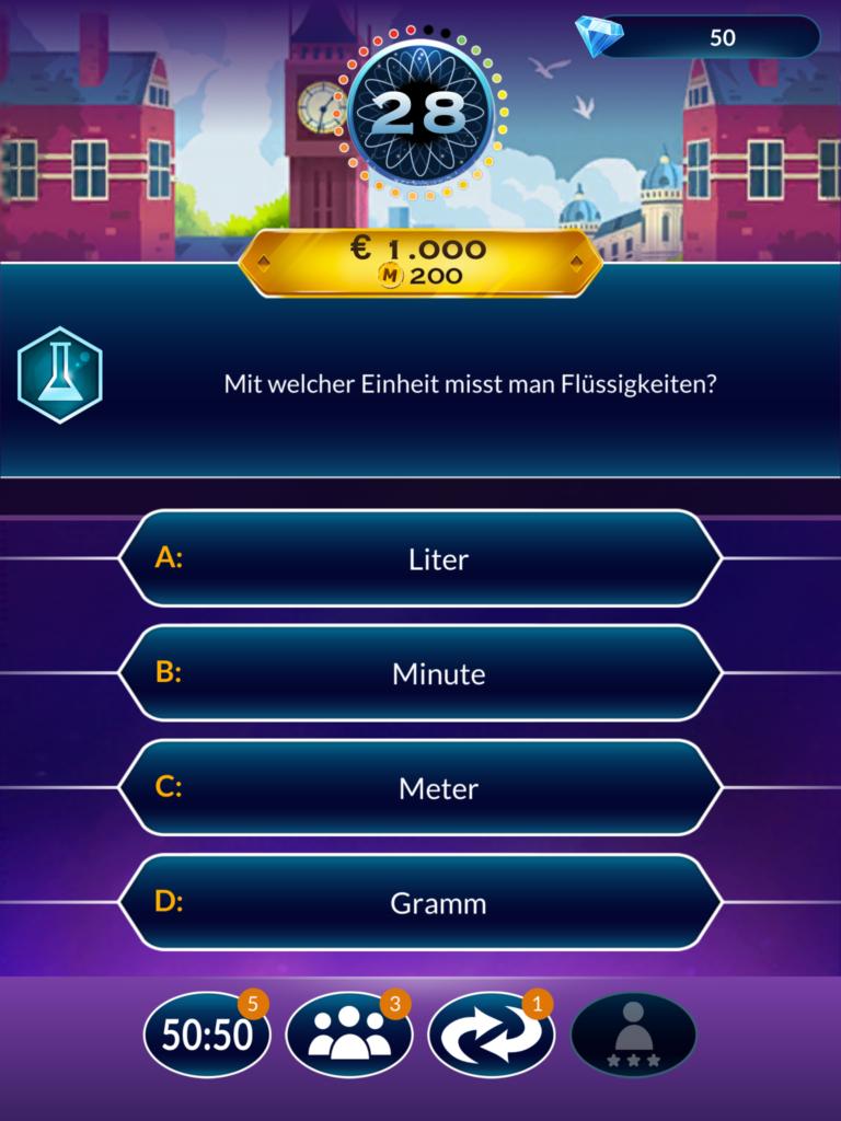 Wer wird Millionär App 3