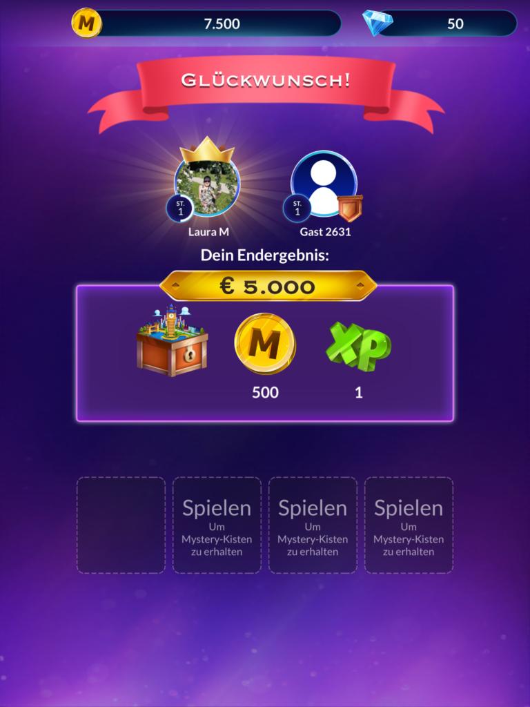 Wer wird Millionär App 12